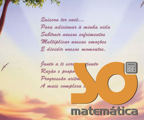 Frases Matemáticas Só Matemática