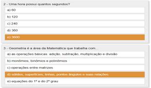 Quiz De Matematica So Matematica